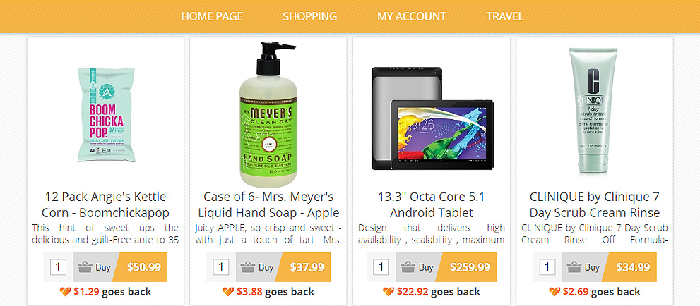 Fundraise with a Robust Online Shopping Site